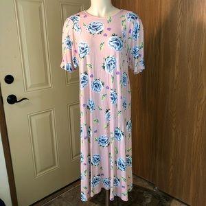 ASOS Floral Print Midi Dress - Size 8